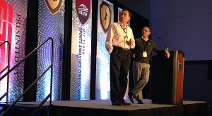 Mark Broadie and Sean Foley present to the 2014 Sloan Sports Analytics Conference in Boston (photo credit: Sean Martin)