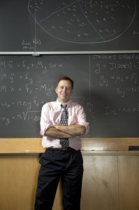 Professor Mark Broadie, photographed at Columbia Business School (photo credit: Michael Falco)