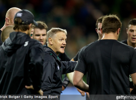 Joe Schmidt. Photo Credit: Patrick Bolger / Getty Images Sport
