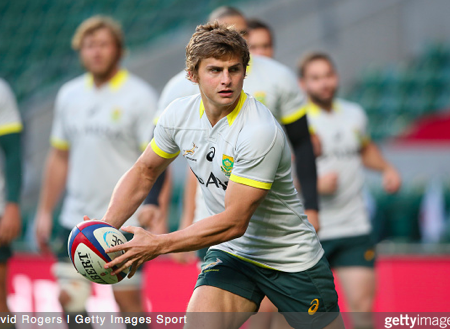 Pat Lambie trains for South Africa. Credit: David Rogers / Getty Images Sport.